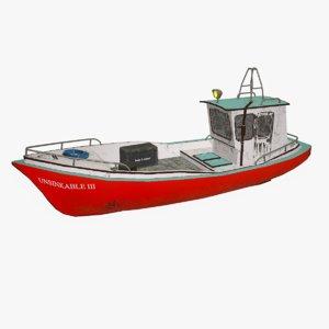 boat pbr 3D