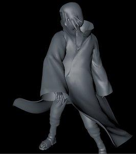 3D itachi model