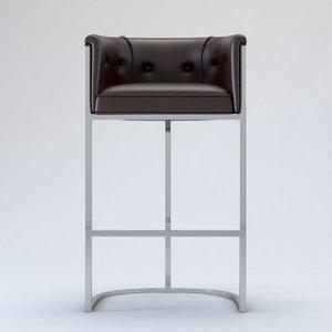 calvin counter stool 3D model