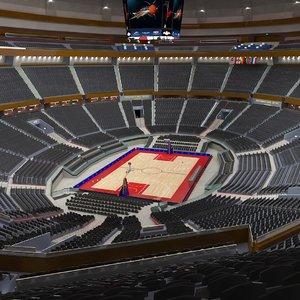 arena basket ball 3D model