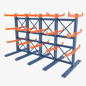 cantilever storage rack model
