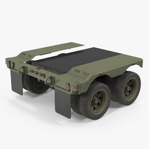 heavy truck axle 3D
