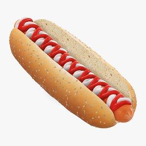 ketchup mayonnaise seed 3D model