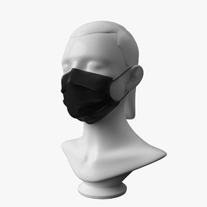3D mask mannequin