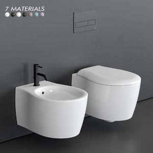 formosa 2 0 wall-hung 3D model