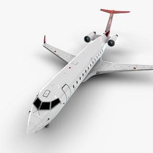 air bombardier crj 200 3D model