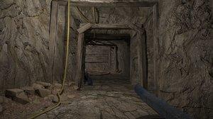 3D cave pit