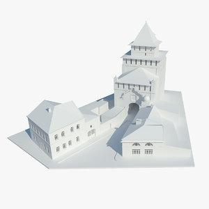 3D pyatnitskie gates