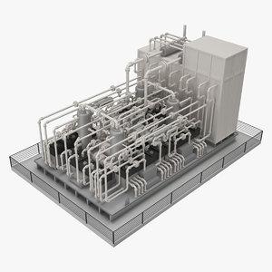 metering skids model