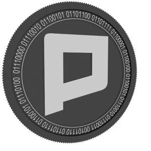 3D phore black coin