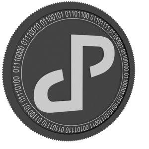peculium black coin 3D