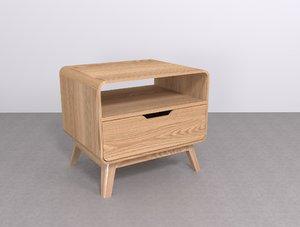 niva lamp table furniture 3D model