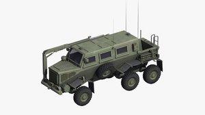 3D buffalo mpv model