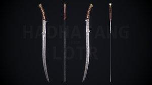 sword elven model