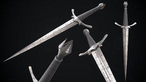 knife morgul 3D model