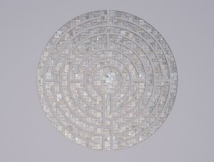 stone labyrinth 3D model