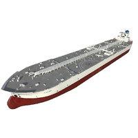 Super tanker TI class Oceania 380m
