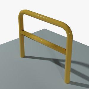 3D arched pole