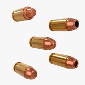 3D cartridge 45 acp