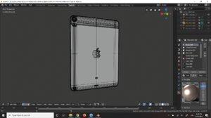 apple ipad air 4 3D model