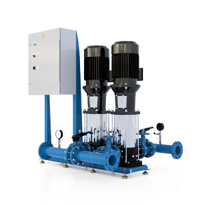 3D model station pump