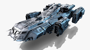 - vehicle 3D model