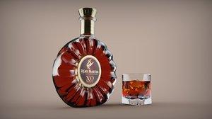 3D cognac remy martin xo model