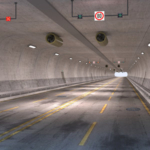 road tunnel 3D