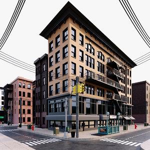 nyc new york 3D