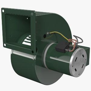 3D pressure blower