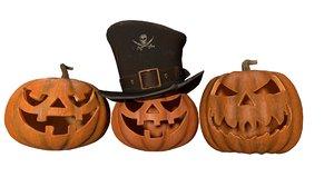 halloween pumpkins model