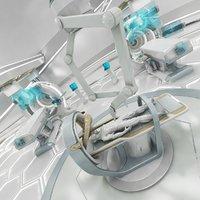Futuristic Sci-fi Lab 3