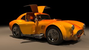 shelby cobra 3D model
