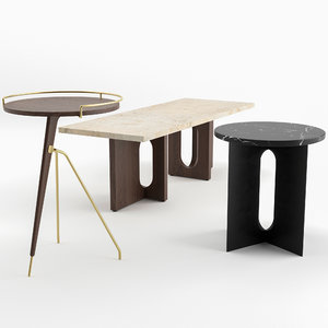 tables menu model