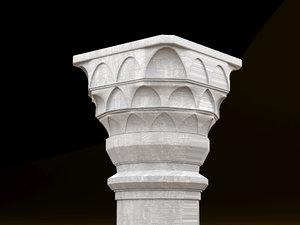 3D ottoman column