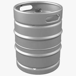 3D beer keg 50l