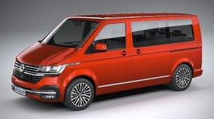 volkswagen transporter 2020 3D