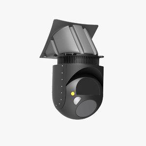 multi sensor thermal night vision 3D model