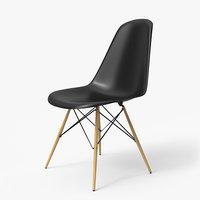 Modern Chair Eames Black