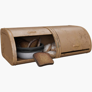 3D model breadbasket contain