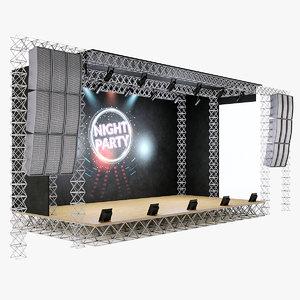 concert scene model
