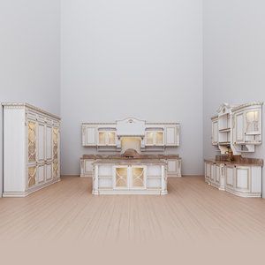 kitchen maria rosa 3D