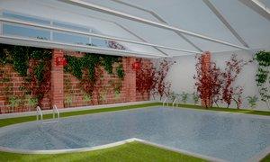 3d indoor pool swimming