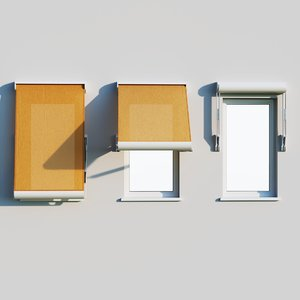 3D shadow canopy window