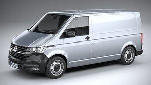 3D volkswagen transporter 2020
