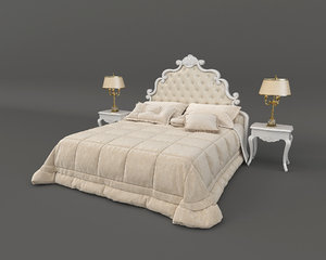 3D bed european model