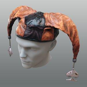 jester hat 3D model