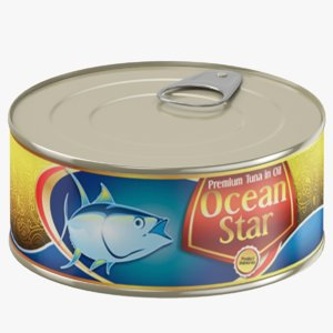 3D canned tuna