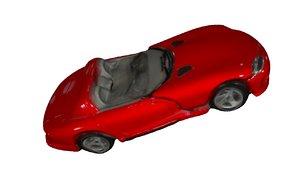 red car 3D