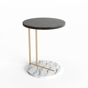 3D marble table